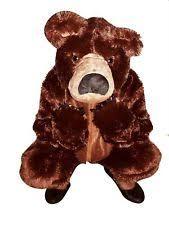 Fluffy Halloween Costumes Kids Bear Costume Ebay
