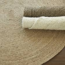Small Round Braided Rugs Round Braided Jute Rug Ballard Designs