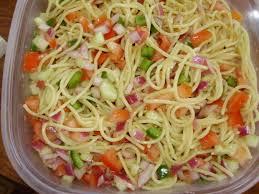 Pasta Salad Recipes With Italian Dressing Spaghetti Pasta Salad Recipes With Italian Dressing