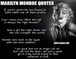 marilyn monroe quotes daily quotes of the life