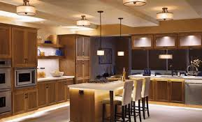 cathedral ceiling kitchen lighting ideas white laminated cabinets