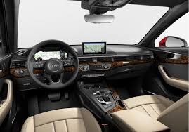 audi dashboard 2017 audi a4 re introducing an audi cornerstone