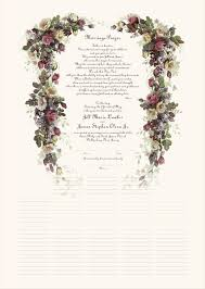 vow renewal certificate template download marriage wedding