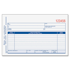 printable cash receipt book delivery receipt form template oninstall