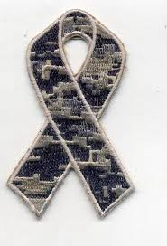 camouflage ribbon camouflage ribbon patch 3x1 6 with heat seal