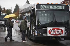 Political Ads Banned From San Francisco Buses Trains C Removing Paid Ads On Buses To Emphasize Its Brand The Columbian
