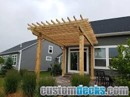 trellis and pergola photos mge carpentry trex deck builder in