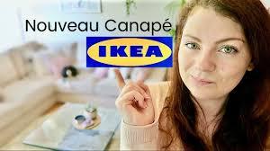livraison canapé ikea shopping vlog opération canapé chez ikea choix achat livraison