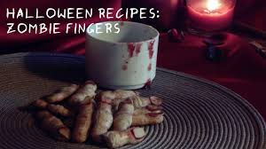 halloween recipes zombie fingers cookies the sweetest journey