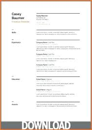 resume templates for docs template resume