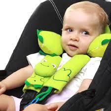 protege ceinture siege auto bébé dessin animé bébé poussette siège auto couverture baudrier coussin