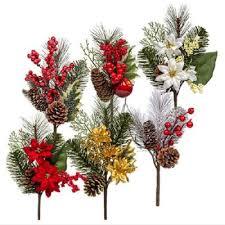 christmas picks christmas floral picks