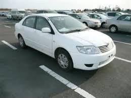 toyota corolla second toyota corolla sedan 2006 id 655 japanese used cars second