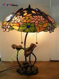 Louis Comfort Tiffany Lamp Louis Comfort Tiffany Seated At Lily Pond Lotus