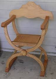 Folding Armchair A Folding Armchair