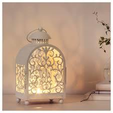 gottgöra lantern for candle in metal cup ikea