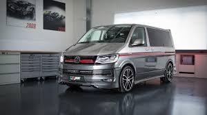 volkswagen fast car abt turns vw t6 into seriously fast transporter