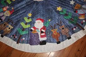 diy santa tree skirt crocheted patternsanta pattern