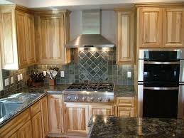 hickory kitchen cabinets love the cabinets counter stainless