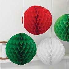 crepe paper christmas crafts can be fun and you can put your own