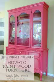 Can You Paint Oak Cabinets How To Paint Wood Furniture Jenna Burger