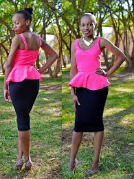 pink on black