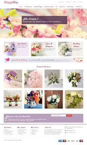 Flower Store Ot Happyday Modern Online Flower Shop Virtuemart Template
