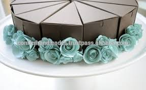 cake slice boxes made from recycled paper suitable for slice cakes