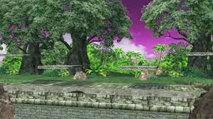 The Forest Map The Forest Subspace Emissary Super Smash Bros For Wii U U003e Maps