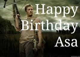 Walking Dead Meme Daryl - happy birthday asa daryl dixon from the walking dead quickmeme