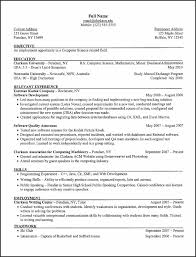 examples of resumes resume template comprehensive free writing