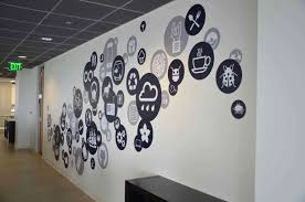 23 creative wall decals ideas for office u2013 14 is most inspiring