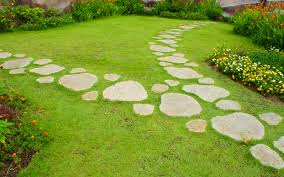 Garden Path Ideas Garden Path Stepping Stones 15 Garden Path Ideas With Stepping