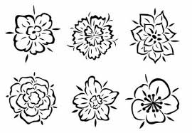 100 flower and tribal tattoo sun tattoo stock images