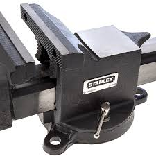 stanley 1 83 068 heavy duty engineers bench vice 6 inch 150mm