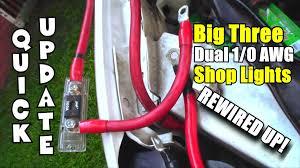 rewired big 3 upgrade u0026 1 0 car audio wiring added three new