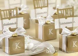 wedding accessories store wedding candies boxes chair shape gold silver cheap new creative
