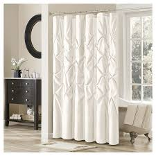 Polyester Shower Curtains Piedmont Solid Polyester Shower Curtain Target