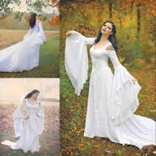 celtic wedding 2018 celtic wedding dress bell sleeve princess lace
