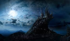 Hogwarts by Images Harry Potter Hogwarts Fantasy Castles Moon Movies Night