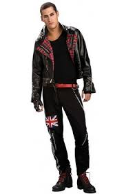 mens back to the 80s themed fancy dress costumes from cheapest