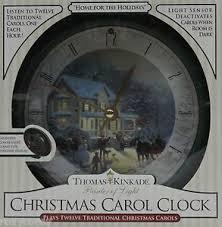 kinkade home for the carol clock plays 12
