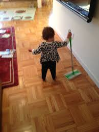 Swiffer Cleaner For Laminate Floors Today U0027s Hint A Frugal Play Sweeper For Your Little Helper