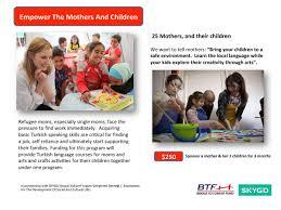 bridge to turkiye fund u2013 btf u2013 let u0027s rise for syrian refugee children