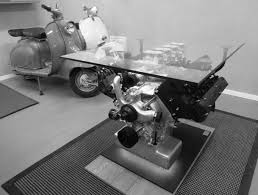 maserati engine coffee table high end engine tables pinterest