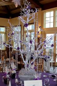 silver tree centerpiece silver tree centerpiece wrapped with led