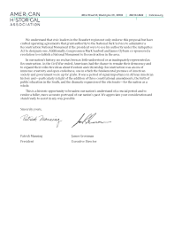 patriotexpressus unique letter of support for national monument to