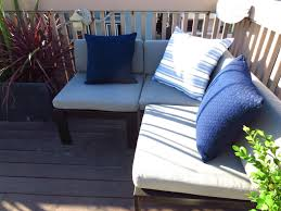 Navy Blue Patio Chair Cushions Wood Pallet Furniture Laura Williams