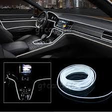 Neon Lights In Cars Interior 2m 12v Car Led El Wire White Cold Light Lamp Neon Lamp Interior