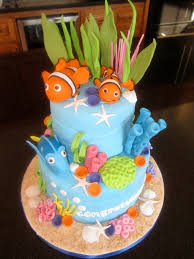 Tropical Theme Birthday Cake - 14 best tropical fish cakes images on pinterest birthday ideas